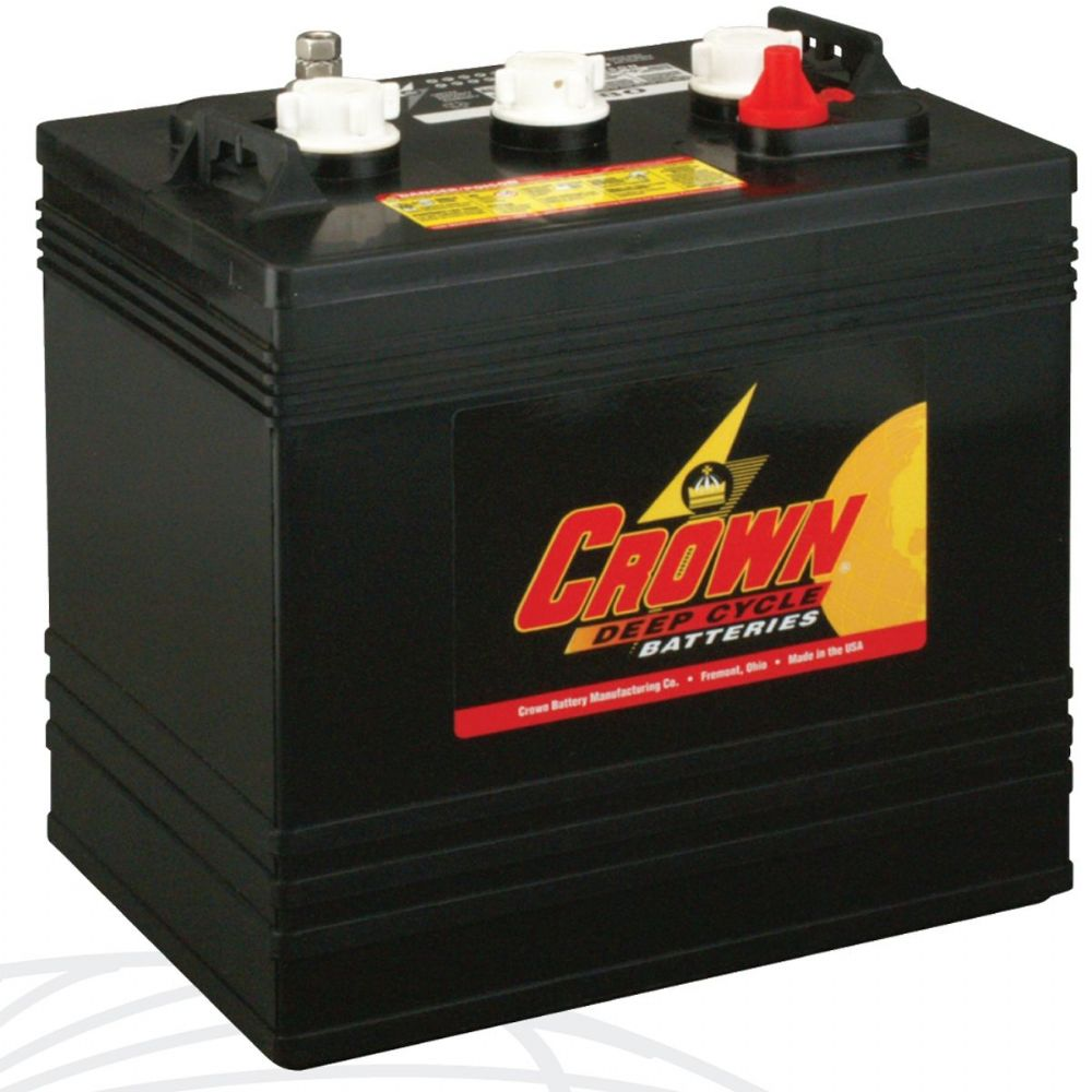 crown cr 220 6v 220ah deep cycle battery battery. Black Bedroom Furniture Sets. Home Design Ideas