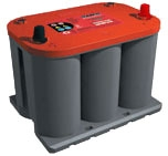 RTR3.7 (8022-255) Optima Red Top - Starting Battery | Buy online from The Battery Shop