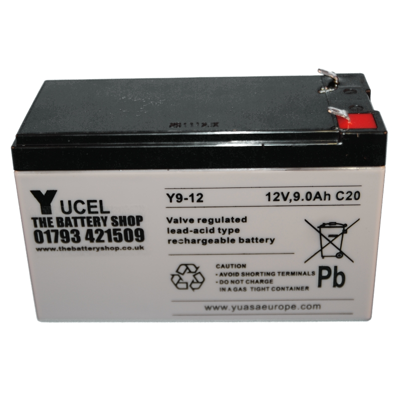 Y9 12 Yucel 12v 9ah Lead Acid Battery Battery 163 13 13 Ex