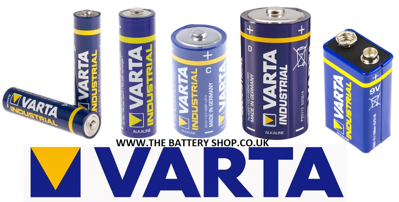 VARTA INDUSTRIAL BATTERIES FROM THE BATTERY SHOP