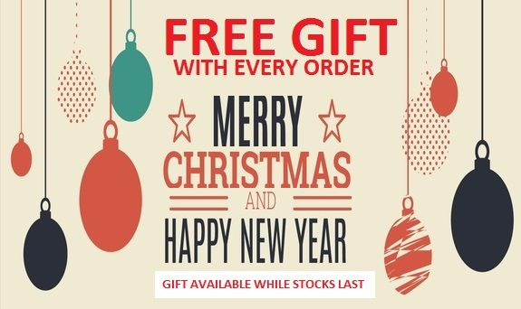FREE GIFT WITH EVERY ORDER AT THE BATTERY SHOP